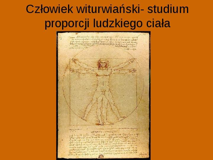Leonardo Da Vinci - Slajd 13
