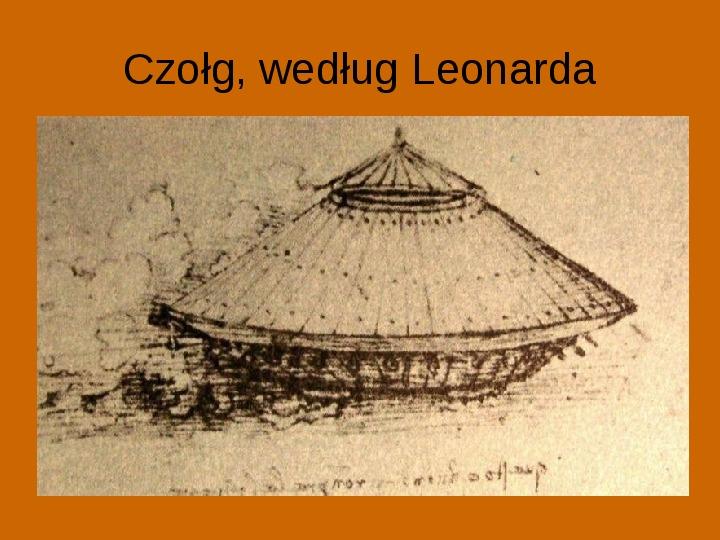 Leonardo Da Vinci - Slajd 15
