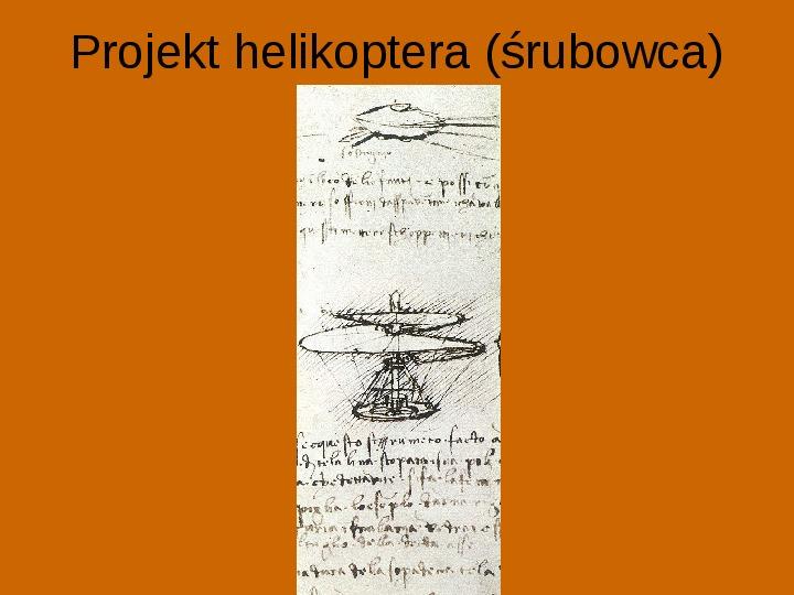 Leonardo Da Vinci - Slajd 18