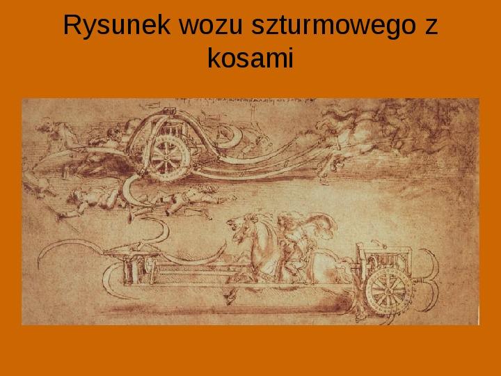 Leonardo Da Vinci - Slajd 25