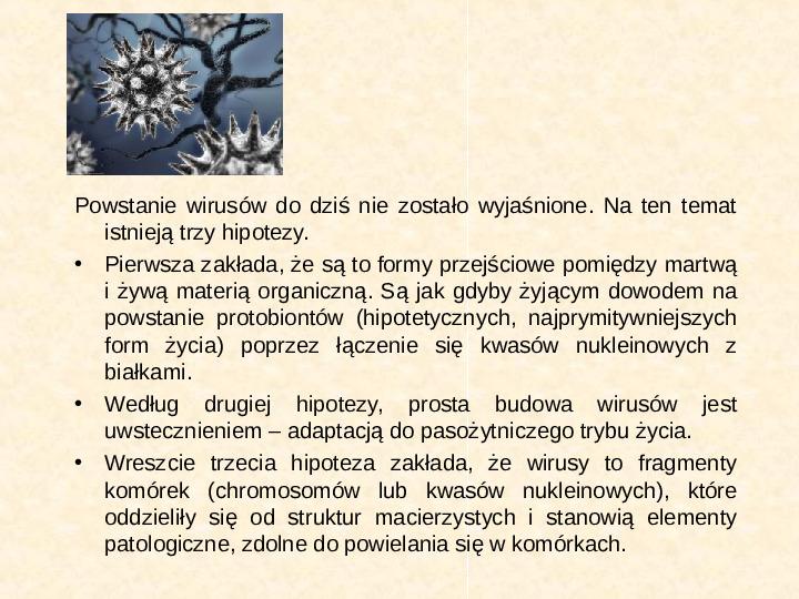 Wirusy - Slajd 2
