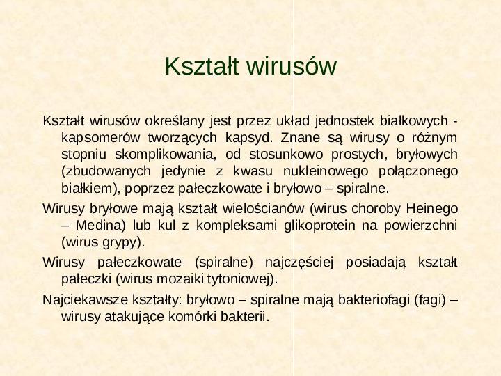 Wirusy - Slajd 6