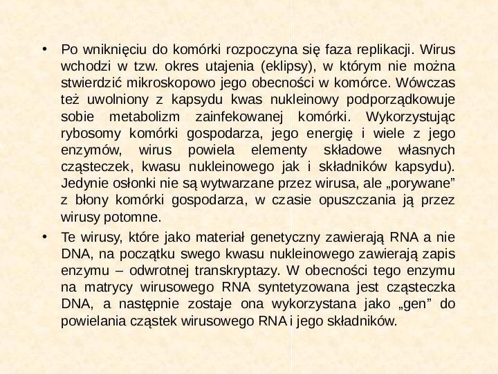 Wirusy - Slajd 12