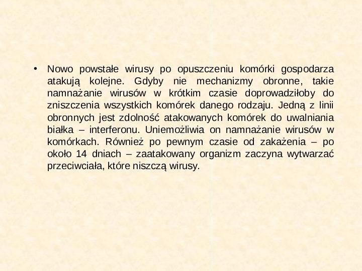 Wirusy - Slajd 14