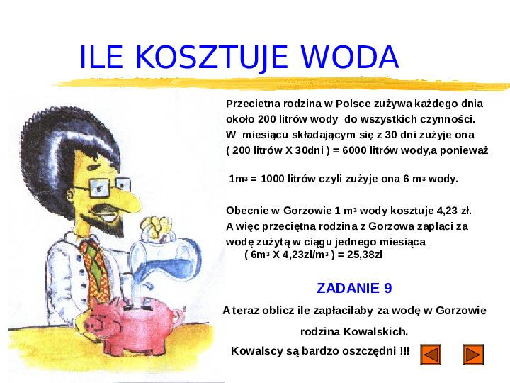 Woda jest życiem - Slajd 25