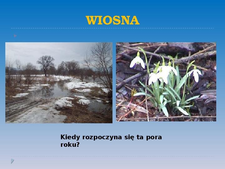 Pory roku w Polsce - Slajd 2