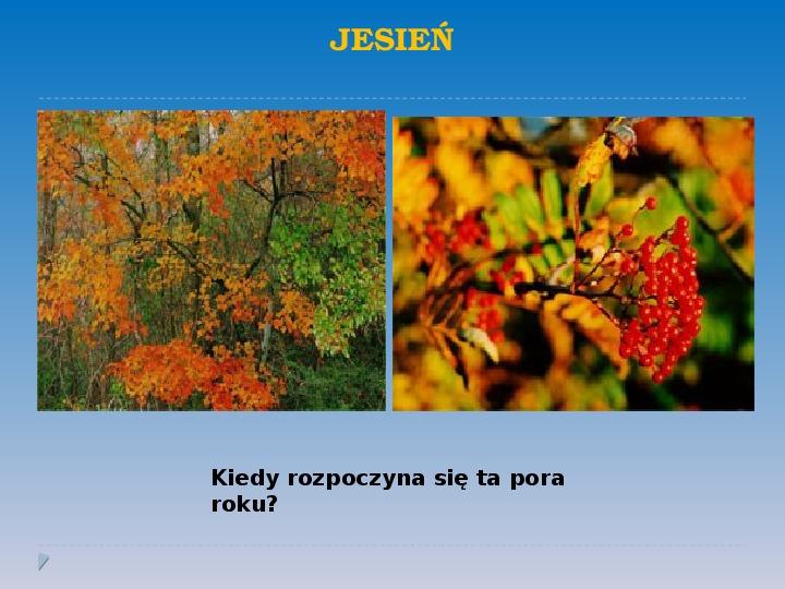 Pory roku w Polsce - Slajd 9