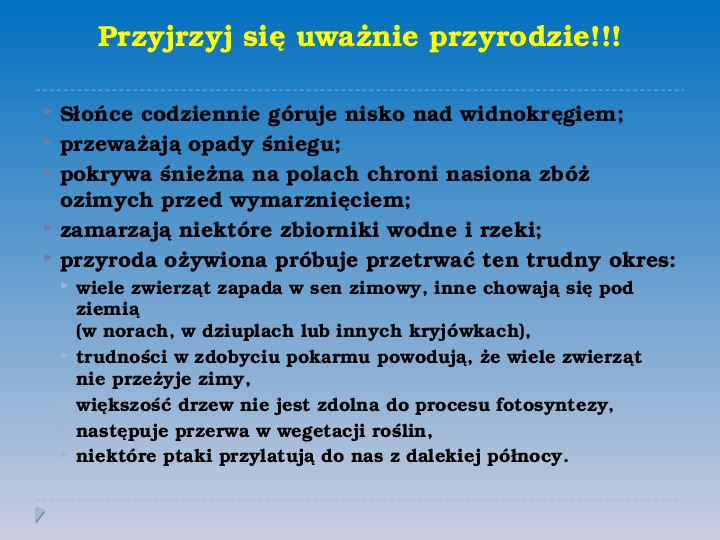 Pory roku w Polsce - Slajd 16