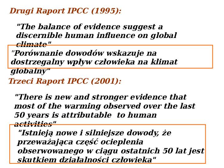Współczesne zmiany klimatu - Slajd 6