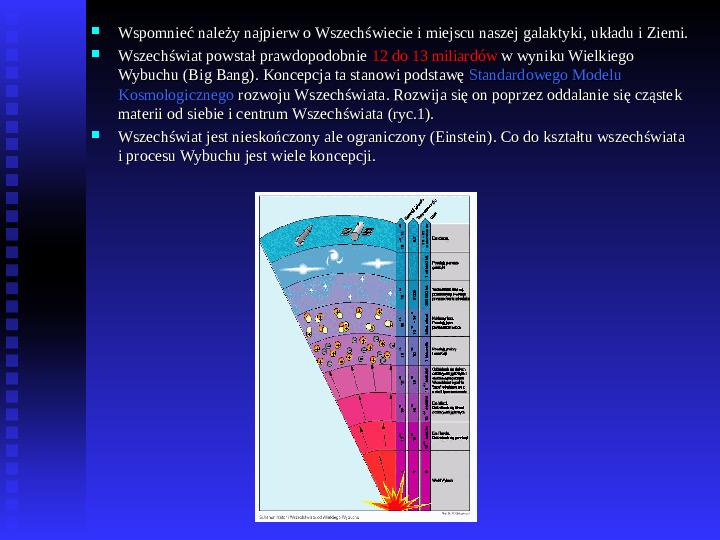 Ziemia we Wszechświecie Ziemia w układzie słonecznym - Slajd 1
