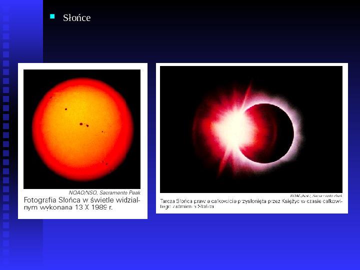 Ziemia we Wszechświecie Ziemia w układzie słonecznym - Slajd 13