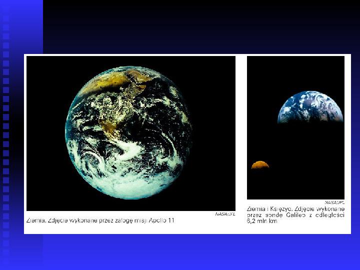 Ziemia we Wszechświecie Ziemia w układzie słonecznym - Slajd 19