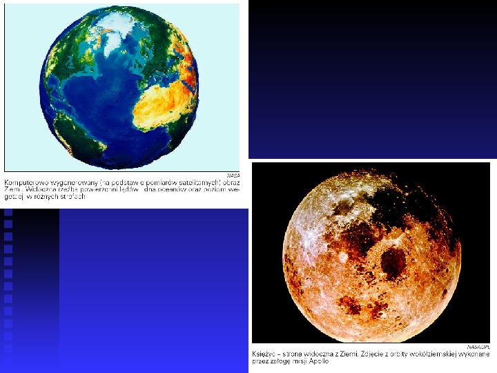 Ziemia we Wszechświecie Ziemia w układzie słonecznym - Slajd 20