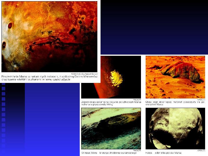 Ziemia we Wszechświecie Ziemia w układzie słonecznym - Slajd 22