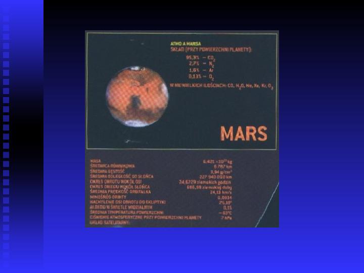 Ziemia we Wszechświecie Ziemia w układzie słonecznym - Slajd 23