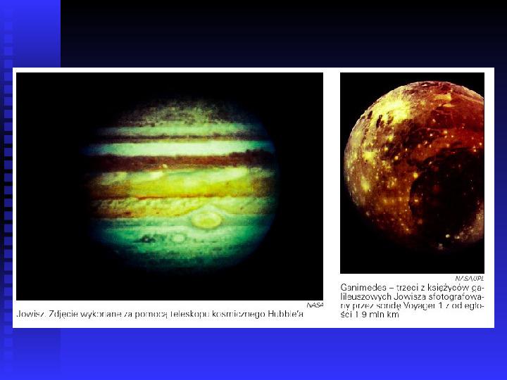 Ziemia we Wszechświecie Ziemia w układzie słonecznym - Slajd 24