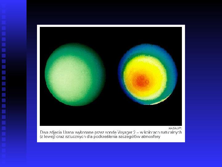 Ziemia we Wszechświecie Ziemia w układzie słonecznym - Slajd 27