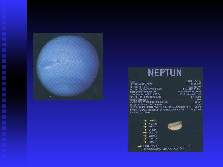 Ziemia we Wszechświecie Ziemia w układzie słonecznym - Slajd 29