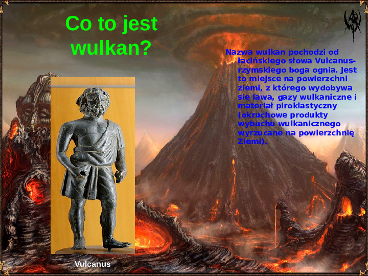 Wulkanizm - Slajd 1
