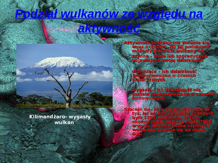 Wulkanizm - Slajd 4