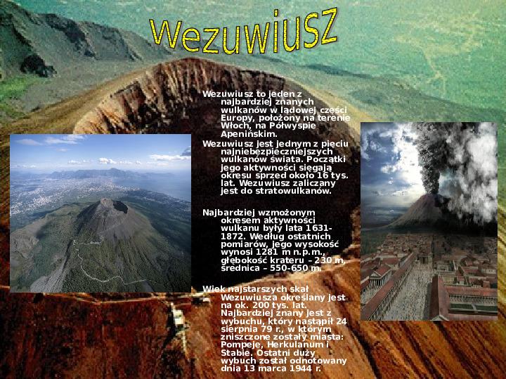 Wulkanizm - Slajd 7