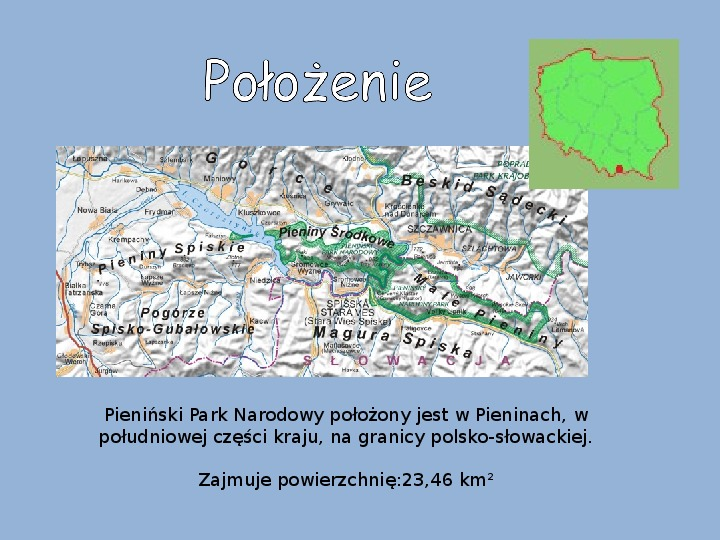 Pieniński Park Narodowy - Slajd 2