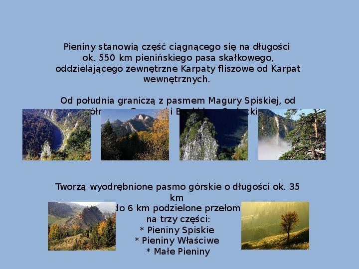 Pieniński Park Narodowy - Slajd 3
