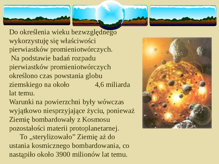 Ziemia, żyjąca planeta - Slajd 18