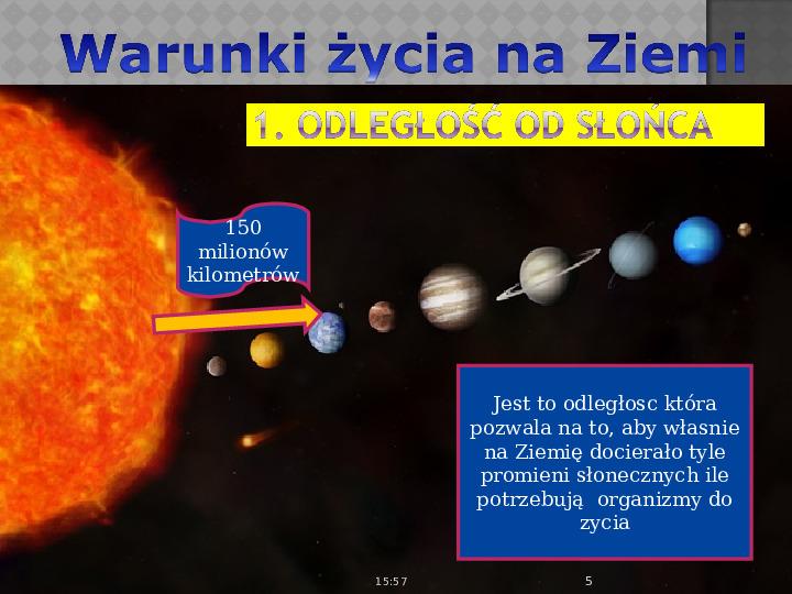 Ziemia - planeta na której żyjemy - Slajd 4