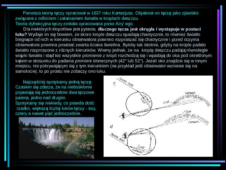 Fizyka - zjawiska optyczne - Slajd 4