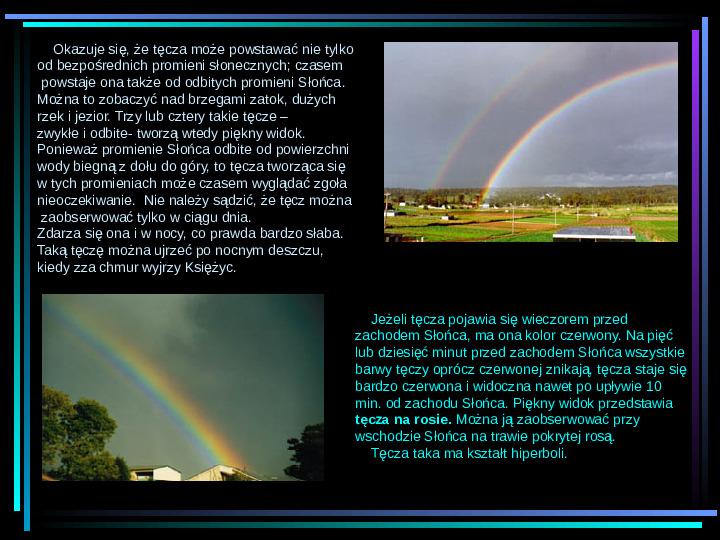 Fizyka - zjawiska optyczne - Slajd 5
