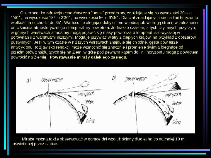 Fizyka - zjawiska optyczne - Slajd 11
