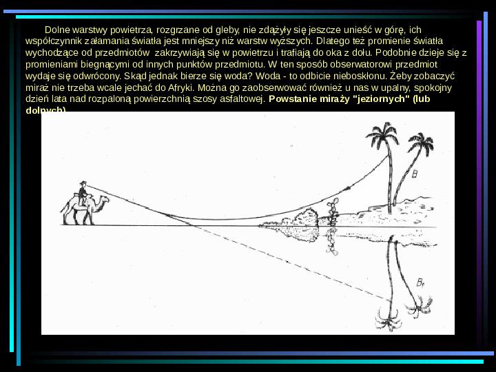 Fizyka - zjawiska optyczne - Slajd 12