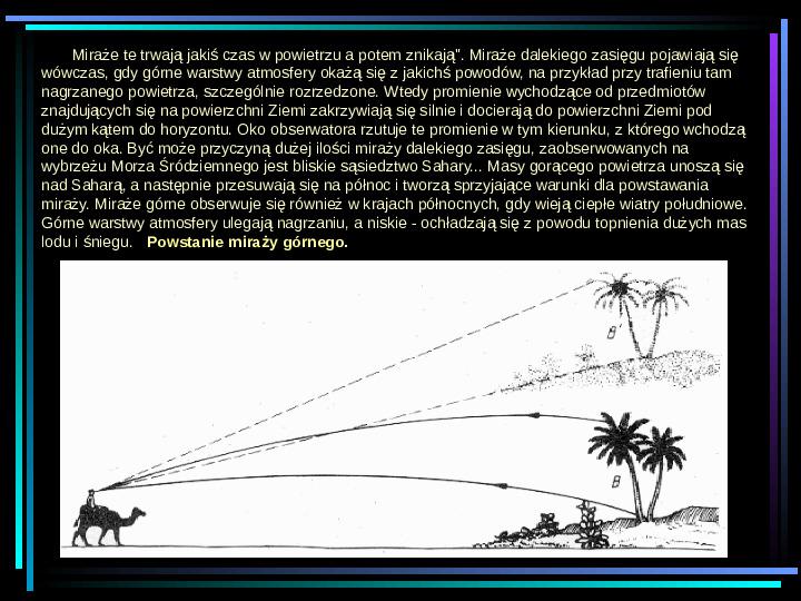 Fizyka - zjawiska optyczne - Slajd 13
