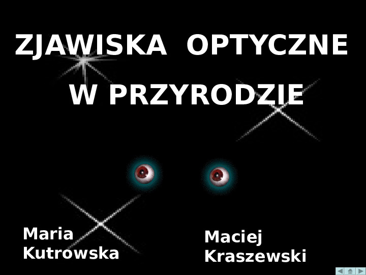 zjawiska optyczne - Slajd 1