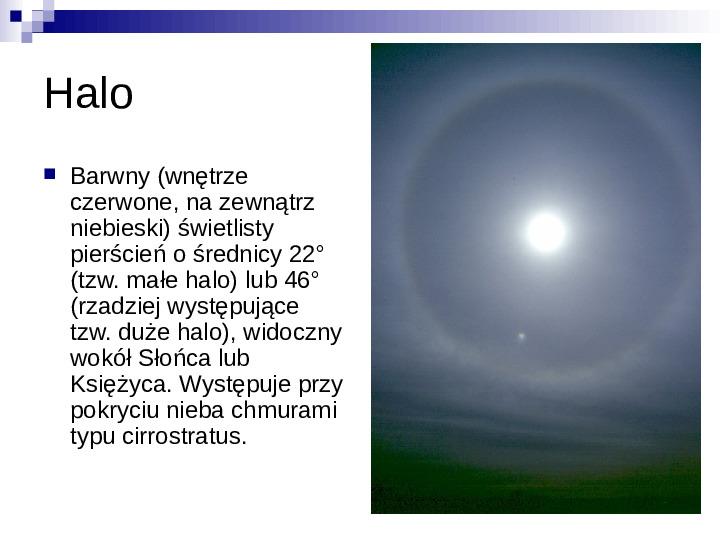 Zjawiska optyczne - Slajd 5