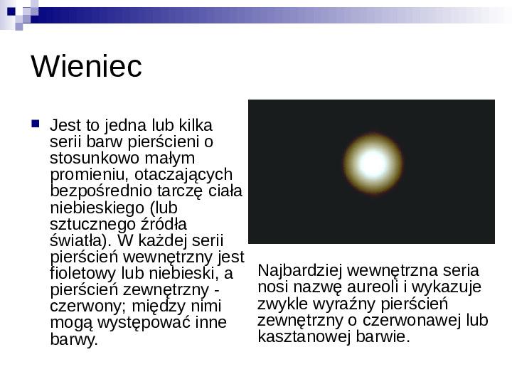 Zjawiska optyczne - Slajd 12