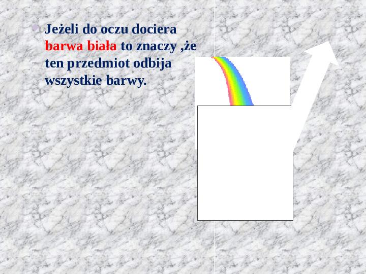 Świat pełen barw - Slajd 10