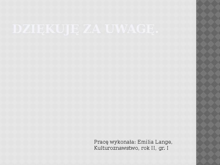 Kultura Materialna Kaszub - Slajd 15
