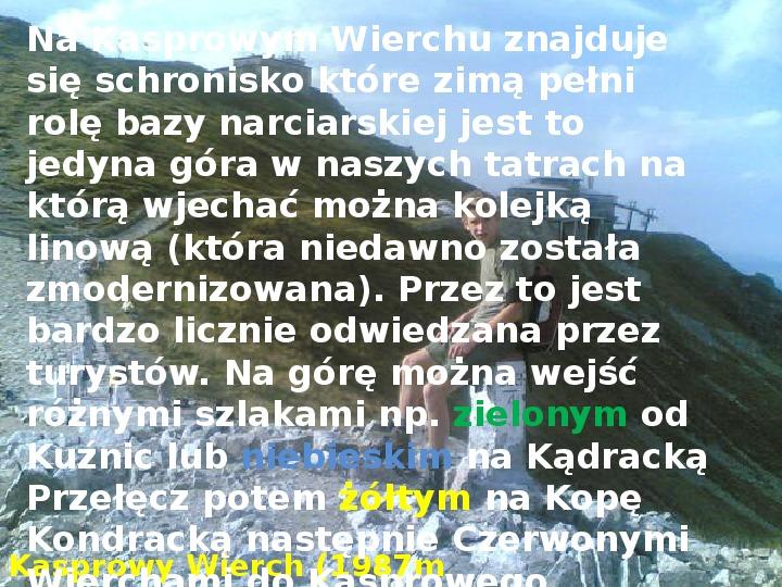 Tatry polskie - Slajd 9