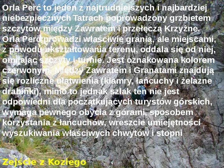Tatry polskie - Slajd 12