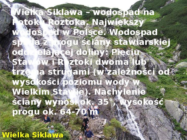 Tatry polskie - Slajd 14