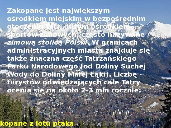 Tatry polskie - Slajd 15