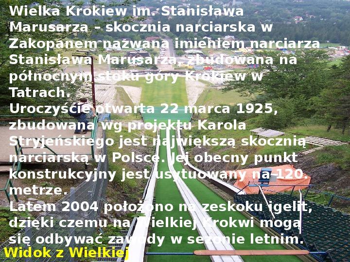 Tatry polskie - Slajd 16
