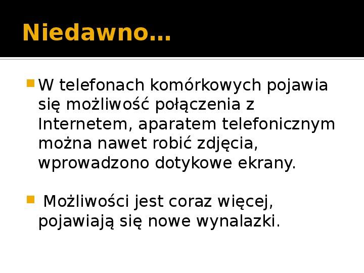 Historia telefonów komórkowych - Slajd 11
