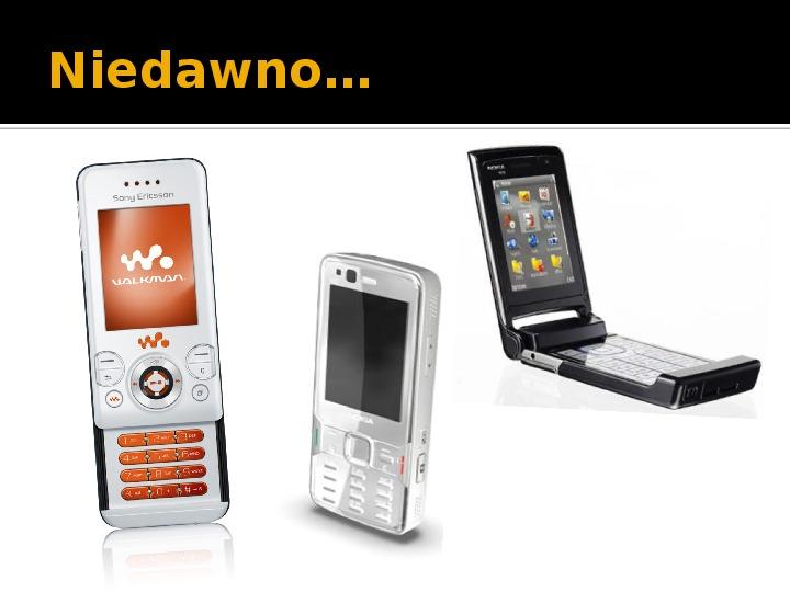 Historia telefonów komórkowych - Slajd 12
