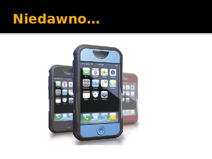 Historia telefonów komórkowych - Slajd 13