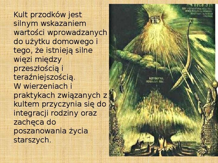 Manizm - Kult przodków - Slajd 19