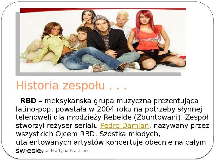 Historia zespołu RBD - Slajd 2