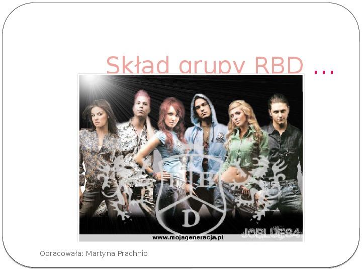 Historia zespołu RBD - Slajd 3